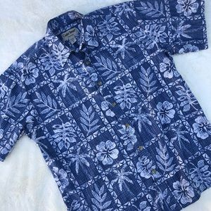 Cooke Street 100% Cotton Hawaiian Casual Shirt M